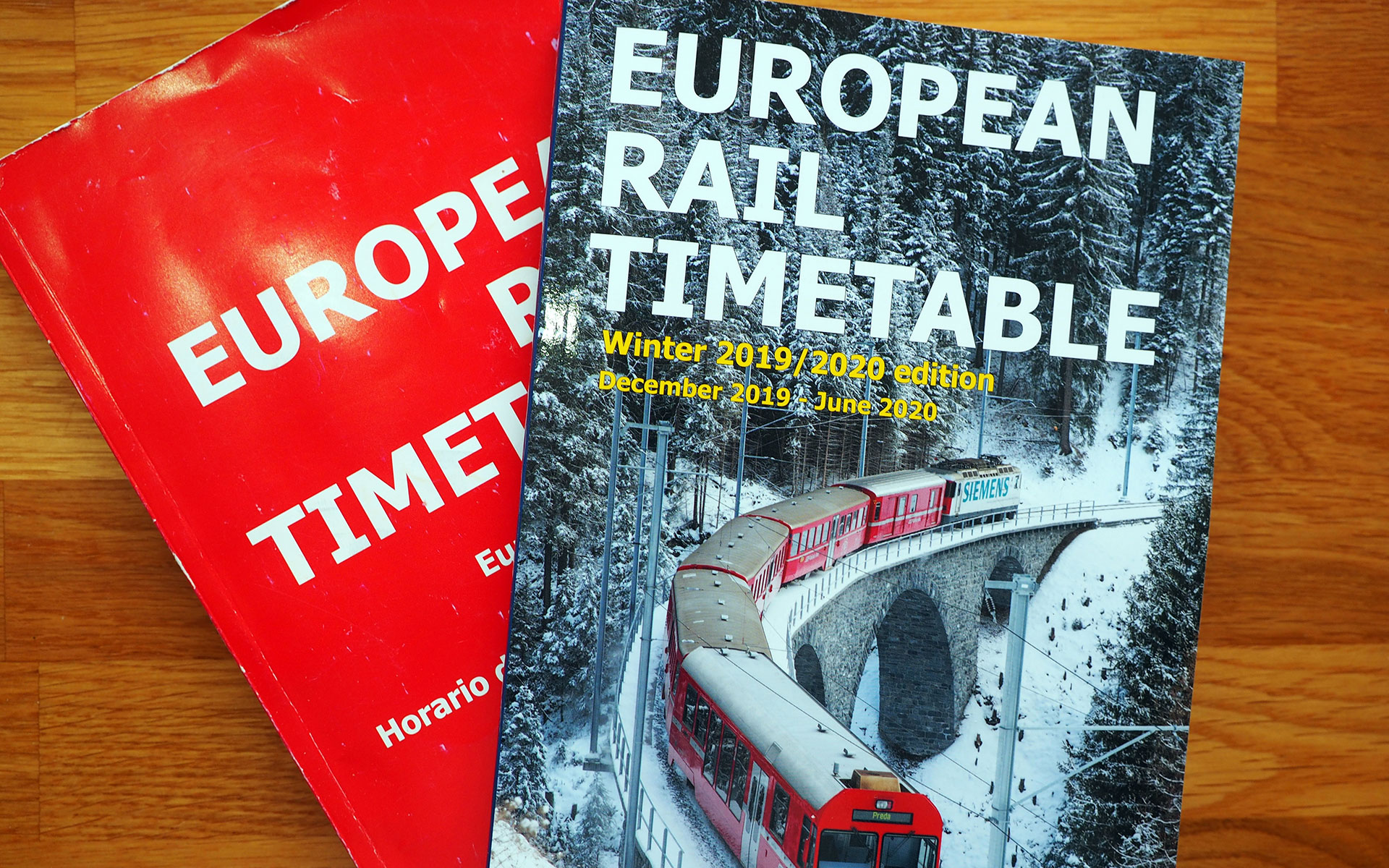 The winter 2019/2020 edition of the European Rail Timetable includes a number of tributes to Brendan Fox
