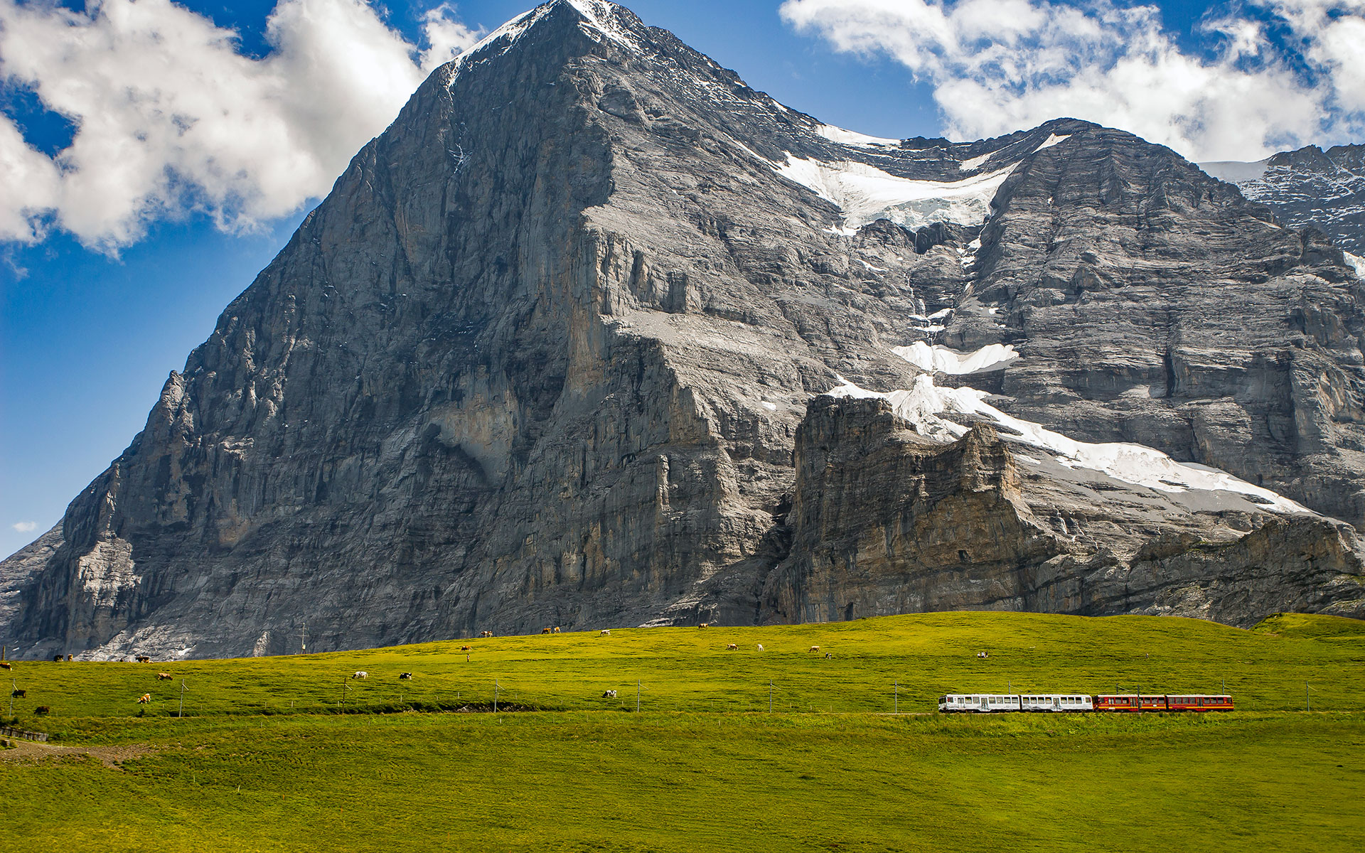 The North Face of the Eiger in the Swiss Alps (photo © Steven van Aerschot / dreamstime . com).
